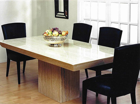 Stone International - Dining Table - 9346