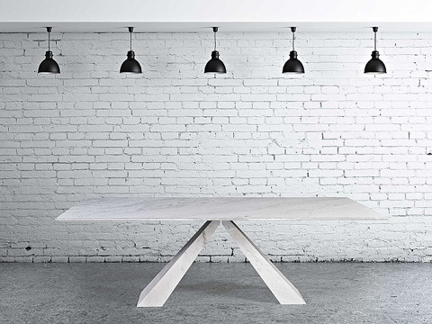 Stone International - Butterfly Stone Dining Table - 9596/S