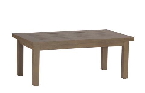 Summer Classics - Club Aluminum Rectangular Coffee Table - 3323