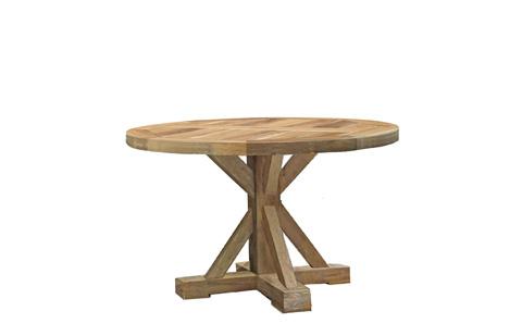 Summer Classics - Modena Teak Round Dining Table - 28714