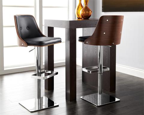 Sunpan Modern Home - Braiden Adjustable Barstool - 04032