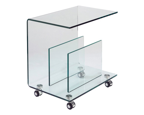Sunpan Modern Home - Dopio Glass End Table - 29030