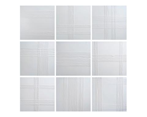 Sunpan Modern Home - White Collage Art - A0081