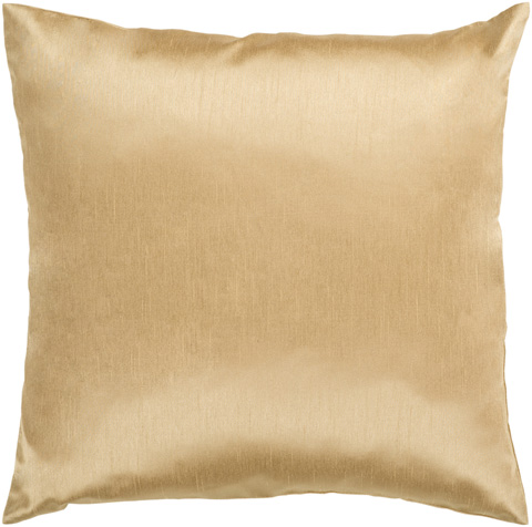 Surya - Mustard Polyester Accent Pillow with Down Filler - HH038-1818D