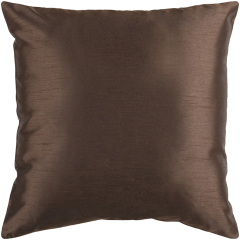 Surya - Chocolate Brown Accent Pillow - HH040-1818P
