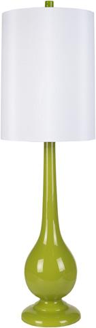 Surya - Green Table Lamp - LMP-1054