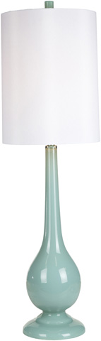 Surya - Turquoise Table Lamp - LMP-1056