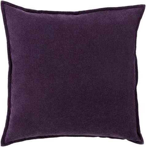 Surya - Cotton Velvet Throw Pillow - CV006-1818D