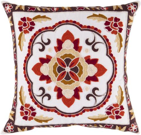 Surya - Botanical Throw Pillow - FF025-1818D