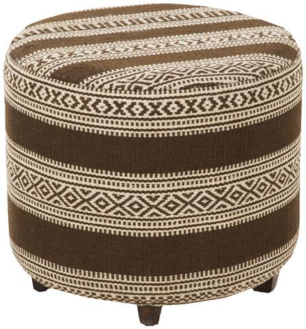 Surya - Round Ottoman - FL1034-505045