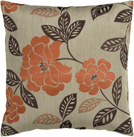 Surya - Blossom Throw Pillow - HH053-1818D