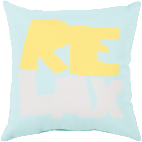 Surya - Rain Throw Pillow - RG094-1818