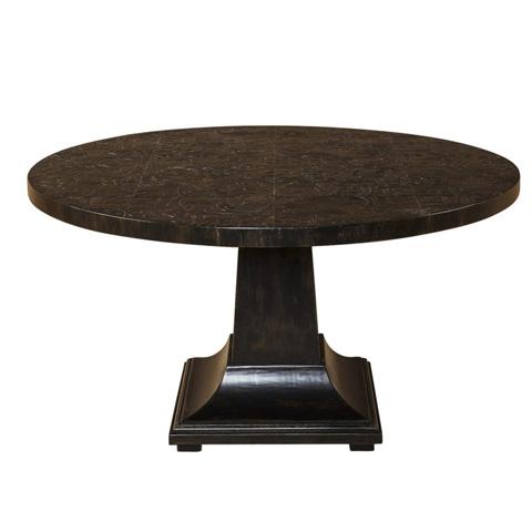 Taracea USA - Aplique Round Dining Table - 12 APL 140