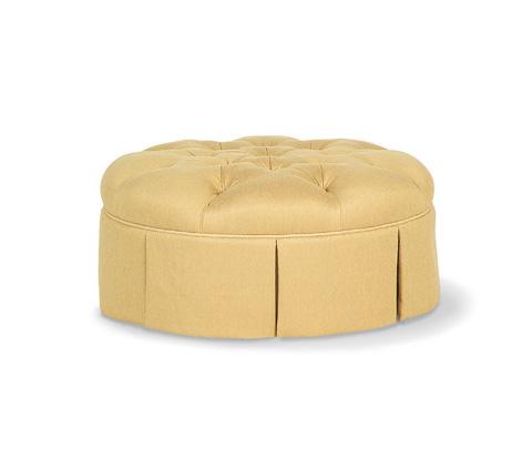 Taylor King Fine Furniture - Hannah Ottoman - 472