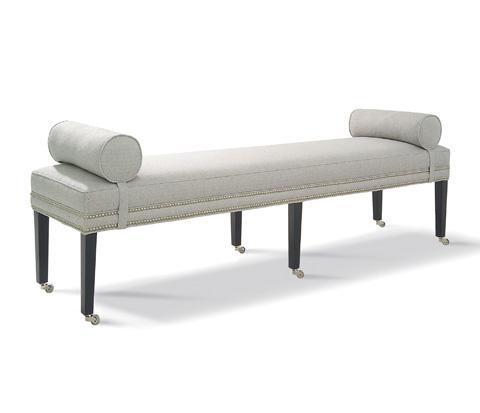 Taylor King Fine Furniture - Brunswick King Bench - 8813-CLK