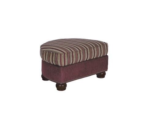 Taylor King Fine Furniture - Edward Ottoman - K521