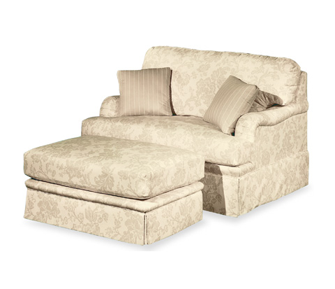 Taylor King Fine Furniture - Hunter Place Chair And A Half - K6208