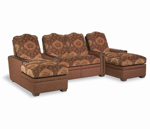 Taylor King Fine Furniture - Stargazer Home Theatre Seating - 293THEATRE