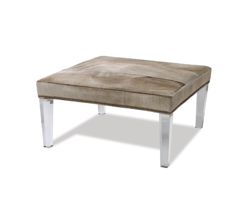 Taylor King Fine Furniture - Sandestin Leather Ottoman - L2313-00