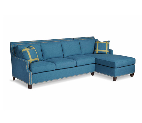 Taylor King Fine Furniture - Santor Sectional - 6212-31/6212-42