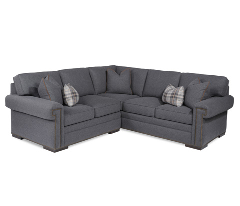 Taylor King Fine Furniture - Douglas Sectional Sofa - 8415-21/8415-34