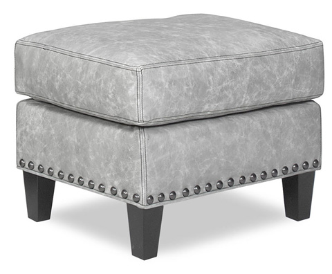 Temple Furniture - Warner Leather Ottoman - 25843