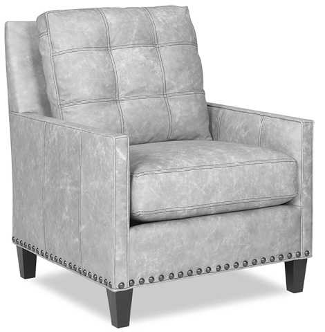 Temple Furniture - Warner Leather Club Chair - 25845