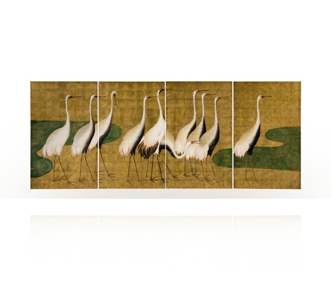 Theodore Alexander - Goose Chase Wall Art - 3202-393