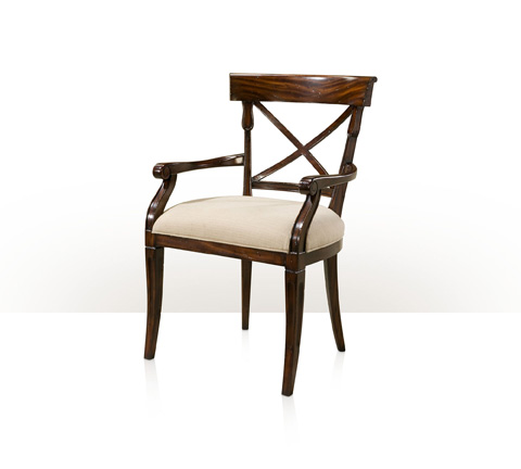 Theodore Alexander - Brooksby Arm Chair - 4100-830