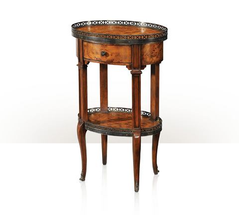 Theodore Alexander - Delicate And Pierced End Table - 5000-113