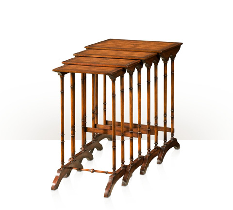 Theodore Alexander - Four In Hand Nesting Table - 5000-159BD
