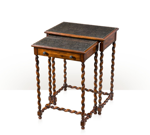 Theodore Alexander - Lightly Engraved Nesting Tables - 5000-220