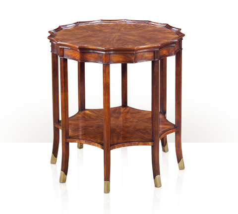 Theodore Alexander - Finely Shaped Edges End Table - 5005-401
