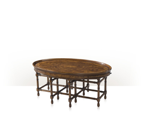 Theodore Alexander - Regency Tray-Top Cocktail Table - 5105-042