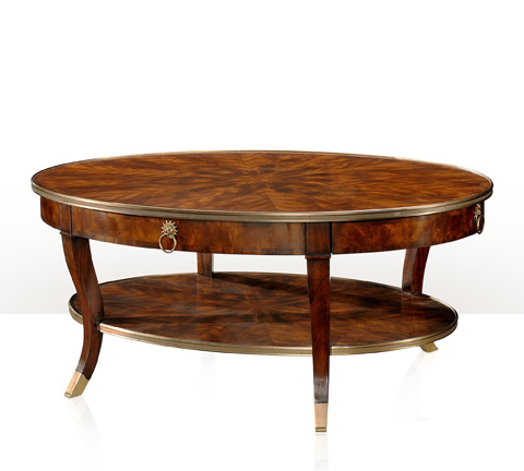 Theodore Alexander - Around In Circles Cocktail Table - 5105-158