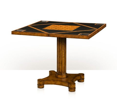 Theodore Alexander - Circle To Square Game Table - 5205-096MT