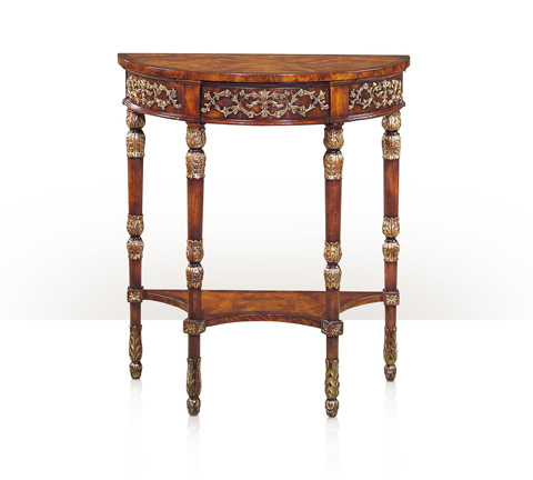 Theodore Alexander - Beauty Of Leaves Console Table - 5300-083