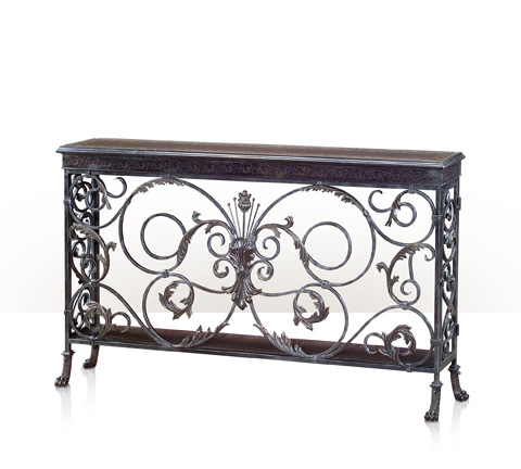 Theodore Alexander - A Highly Wrought Console Table - 5321-028