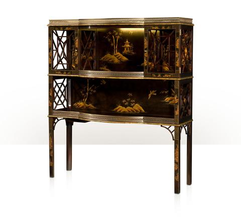 Theodore Alexander - Chocolate Garden Accent Cabinet - 6102-149