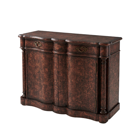 Theodore Alexander - Stones Of Provence Cabinet - 6102-165AA