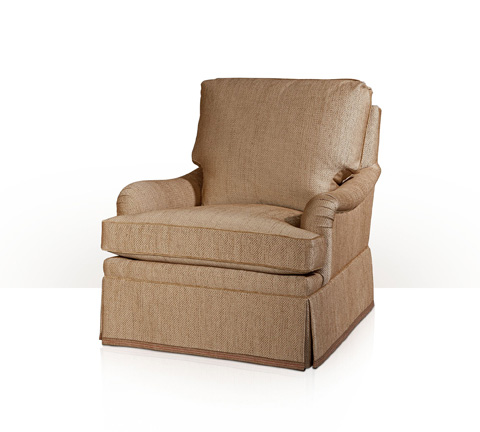 Theodore Alexander - Delphia Club Chair with Skirt - 7281XX