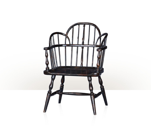 Theodore Alexander - Rustic Hickory Accent Chair - AM42002