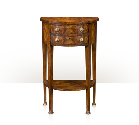Theodore Alexander - A Demilune End Table - RE50025