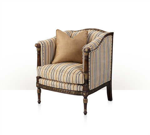 Theodore Alexander - Undulating Barrel Chair - A204.5