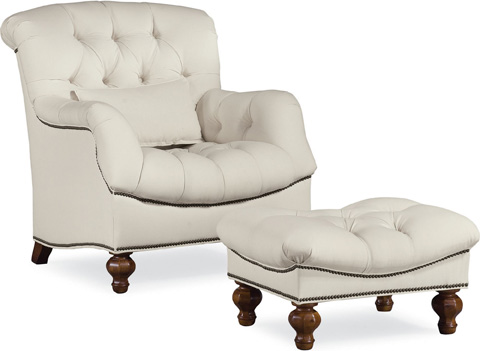 Thomasville Furniture - Walden Ottoman - 1177-16