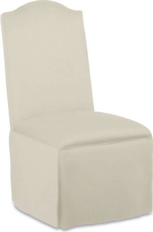 Thomasville Furniture - Donna Side Chair with Kick Pleat Skirt - 1641-15