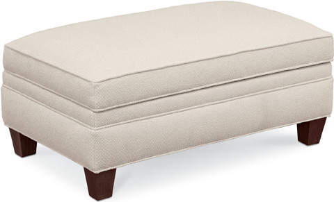 Thomasville Furniture - Mercer Storage Ottoman and a Half - 1803-161ST
