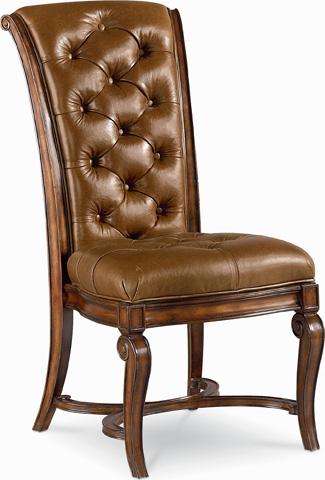Thomasville Furniture - Deschanel Leather Side Chair - 46721-871