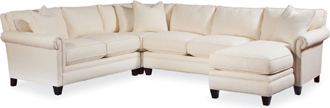 Thomasville Furniture - Mercer Sectional - 1801-SECT
