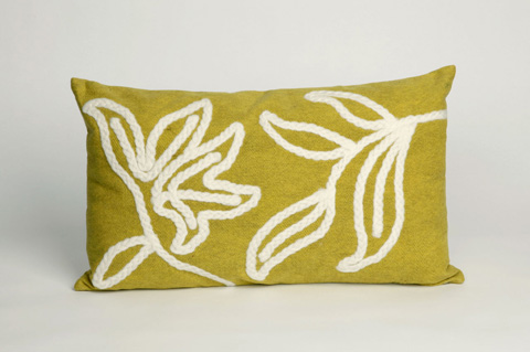 Trans-Ocean Import Co., Inc. - Visions I Windsor Lime Pillow - 7SA1S307606